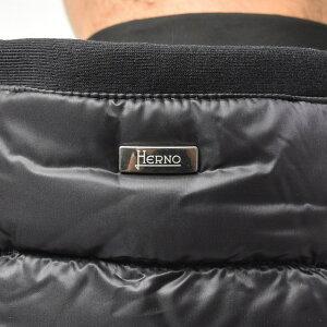 HERNO(ヘルノ)ウォーターレペレントナイロンダウン×スウェットハイブリッドジップフーディーPI0612U-12020+13461S/I14011001132