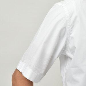 Bagutta(バグッタ)ウォッシュドコットンポプリンソリッドS/SオープンカラーシャツMAUIGM/CN017011011001054