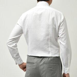 Giannetto(ジャンネット)コットンリネンソリッドセミワイドカラーシャツVINCIFIT/821300V81/822300V8111011003109