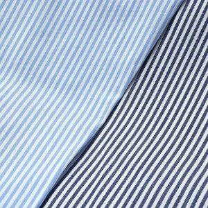 Maria Santangelo(マリア サンタンジェロ)コットンブロードストライプS/Sワンピースカラーシャツ Be/ENZO-MARCELLO/PR-100 11011004115