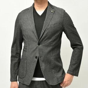 Giannetto(ジャンネット)ストレッチコットンシャンブレー2Bシャツジャケット CORALLO/AC346 17011003109