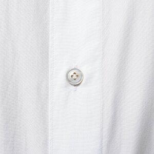 Finamore(フィナモレ)LUIGIルイジ/BALIバーリウォッシュドコットンブロードソリッドワイドカラーシャツC014711012004039