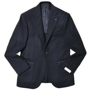 DePetrillo(デペトリロ)カシミアサキソニーソリッド3BジャケットNAPOLI/PosillipoTW22166U17012002082