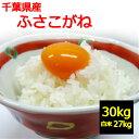 【新米】【送料無料】【令和3年産】【玄米】【精米無料】千葉県産 ふさこがね 30kg お取り寄せ】30キロ お米 【精米の…