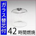 【芯3-15】【ガラス替芯付・42時間燃焼】ムラエGT-242オイルランプバーナー(UPS610)【RCP】