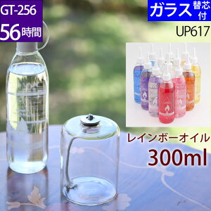 ハーバリウムオイルランプ アレンジセットGT−256 お好み300オイル 芯 G3− 15【レインボーオイルセットガラス替芯付】オイルランプ 容器 ハーバリウム ランプ キット 材料 資材 セット 【GT-256