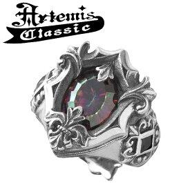 アルテミスクラシック ミスティックシールドリングRD フリーサイズ Artemis Classic アルテミスクラッシック リング メンズ シルバー925 メンズリング シルバーリング 男性 Men's Ring メンズ指輪 男性用 指輪 ブランド