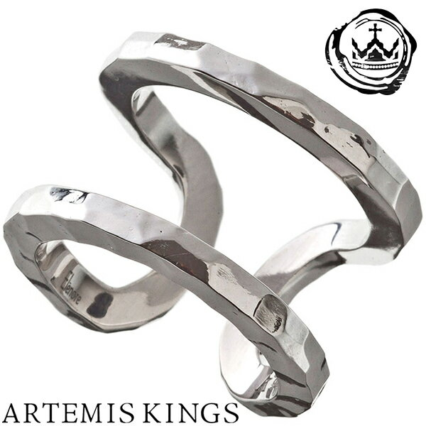 Artemis Kings ダブルカフリング メンズサイズ 15号〜23号 フリーサイズ Elenore エレノア コラボ アルテミスキングス モード メンズ リング レディース 男性用 女性用 銀指輪 メンズリング 男性用指輪 ブランド プレゼント 人気 かわいい おしゃれ