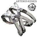 ArtemisKingsラップリングメンズサイズ15号〜23号フリーサイズElenoreエレノアコラボアルテミスキングスモードメンズリングレディース男性用女性用銀指輪メンズリング男性用指輪ブランドプレゼント人気かわいいおしゃれ