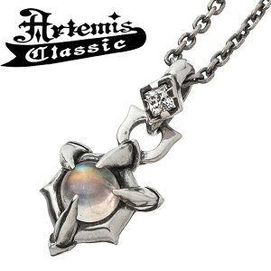 アルテミスクラシック ムーンストーンクローペンダント Artemis Classic チェーンなし シルバーペンダント ムーンストーン クロー 天然石 ペンダントトップ トップ シルバー925 メンズペンダン