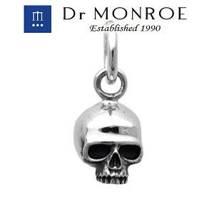 Dr MONROE ドクターモンロー スカルチャーム スカル 骸骨 ドクロ ブランド シルバーアクセサリー シルバー925 シルバー スターリングシルバー ペンダントトップ シルバーチャーム メンズ レデ