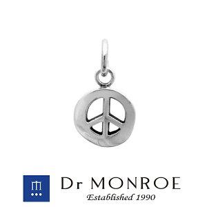 Dr MONROE ドクターモンロー ピースマークチャーム ピースマーク ブランド シルバーアクセサリー シルバー925 シルバー スターリングシルバー ペンダントトップ シルバーチャーム メンズ レデ