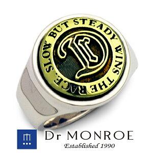 Dr MONROE ドクターモンロー コンチョカレッジリング コンチョ カレッジ 英語 英字 英文 メッセージ ブランド シルバーアクセサリー シルバー925 シルバー スターリングシルバー シルバーリン