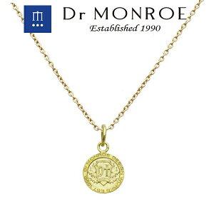 Dr MONROE ドクターモンロー K18コインネックレス (チェーン付きペンダント) コイン ロゴ シンボル ブランド シルバーアクセサリー シルバー925 シルバー スターリングシルバー ペンダントヘッ