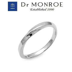 Dr MONROE ドクターモンロー ナローメビウスリング リング シンプル ロック ブランド シルバーアクセサリー シルバー925 シルバー スターリングシルバー シルバーリング 指輪 ペア ピンキー プ