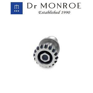 Dr MONROE ドクターモンロー ギア ピアス 1P 片耳用 ボルト ネジ 機械 マシン メカニック シルバーピアス スタッドピアス シルバー ブランド シルバーアクセサリー シルバー925 ロック スチーム