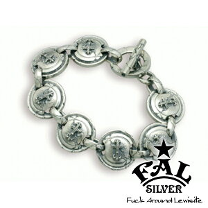 F.A.L BLCコンチョブレスレットL ブレスレット ブラッドレスクロス コンチョ Tバー エフエイエル ブレスレット バングル 腕輪 シルバー925 銀 シルバーアクセサリー メンズ レディース 男性 女