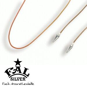 F.A.L ゴシックネイル フォレスト カラーチョーカー ネックレス(ペンダントトップなし) スパイク とげ 編み紐 コード ろうびき紐 ワックスコード アースカラー エフエイエル ネックレス ペン