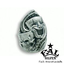 F.A.L TDシェイプトゥーファニーリング リング スカル スマイル ジルコニア エフエイエル リング 指輪 シルバー925 銀 シルバーアクセサリー メンズ レディース 男性 女性 アクセサリー ギフト プレゼント おしゃれ