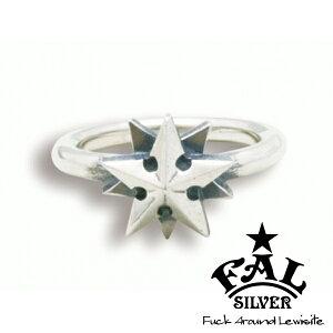 F.A.L ノーティカルゴシックスターリング リング 星 スター 北極星 タトゥー エフエイエル リング 指輪 シルバー925 銀 シルバーアクセサリー メンズ レディース 男性 女性 アクセサリー ギフ