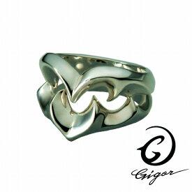 GIGOR ジゴロウ トライバルハートリング FIENAL series フィーナルシリーズ ハート ハート型 透かし 立体 トライバル タトゥー シルバー925 シルバーアクセサリー 銀 SV925 指輪 シルバーリング 銀指輪 メンズリング レディースリング メンズ ハード 存在感 アクセサリー
