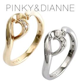 ピンキー&ダイアン ダイヤモンド キャンドル K10 ゴールドリング 6〜16号 ゴールド リング 指輪 10金 レディース ダイヤ ホワイト 女性 プレゼント 記念日 誕生日 ブランド 人気 彼女 かわいい おしゃれ