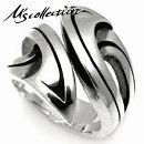 M'scollectionエムズコレクションシルバー925メンズリング(フリーサイズ)ジュエリーペア厚みゴツい重厚感プレゼント指輪男性彼氏旦那カップルお揃いシルバーリング銀指輪メンズリングレディースリングメイドインジャパンドメスティック国産日本製