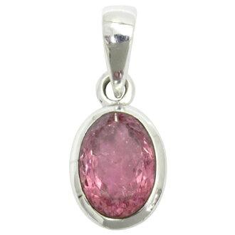 美国生产切粉红色电气石吊坠银天然石石吊坠女士电气石十月诞生石提出了女士的项链吊坠泪项链。