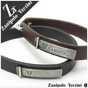 ザニポロタルツィーニ ザニポロプレート レザー ペアブレスレット ペアアクセサリー ブレスレット ペア ブレス お揃い ペアブレス Zanipolo Terzini ブランド カップル 人気 プレゼント おしゃれ