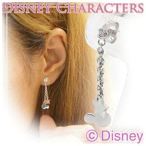 Disney ディズニー ミッキー シルエット ジルコ...