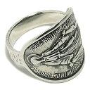 マリア像のメダイ 不思議のメダイ シルバーリング 17〜23号 メンズ 指輪 銀 聖母マリア Maria メンズリング 男性用指…