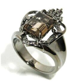 AVALON スモーキークォーツ シールド ブラック シルバーリング 17〜23号 メンズ リング シルバー シルバー925 シルバーアクセサリー 男性 指輪 エンブレム 盾 メンズリング 男性用指輪 ブランド プレゼント 人気 彼氏 おしゃれ