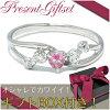 心形粉红色电气石银戒指 7-13,妇女的粉红色电气石女士电气石女士戒指 (ubiwa) 石天然石女士戒指女士戒指