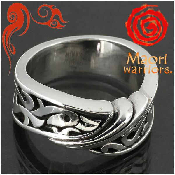Maori warriors Pray 祈り リング シルバー 15〜21号 マオリウォリアーズ シルバー925 シルバーリング メンズ ブランド トライバル マオリ 指輪 ニュージーランド ハカ ラグビー メンズリング 男性用指輪 プレゼント 人気 彼氏 おしゃれ