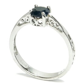 サファイア ボリュームプラチナコート シルバーリング 8〜14号 レディース リング Sapphire 女性用 指輪 パワーストーン 天然石 レディースリング レディース指輪 プレゼント 人気
