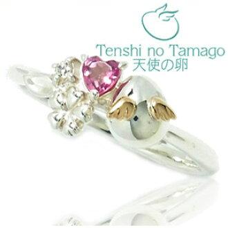 粉红色的电气石花束银戒指尺寸: 7-13,妇女环妇女电气石女士戒指环 (yubiwa) 天使蛋戒指 K10 黄金女士戒指女士戒指