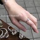天然 ハーキマーダイヤモンド 1.0〜1.5ct 前後 シルバー ソリティアリング 11〜14号 天然石 天然水晶 水晶 原石 誕生…