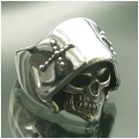 Catalonia 死神 デス スカル シルバーリング 11〜27号 スカルリング ドクロ 骸骨 グリムリーパー メンズ リング 男性用 指輪 銀の蔵 メンズリング 男性用指輪 ブランド プレゼント 人気 彼氏 おしゃれ
