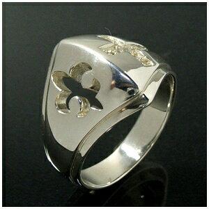 ジルコニア クロス 透かしリリー甲冑 シルバーリング 17〜19号 指輪 リング Ring メンズ レディース 銀の蔵 シルバー925 メンズリング 男性用指輪 プレゼント 人気 おしゃれ