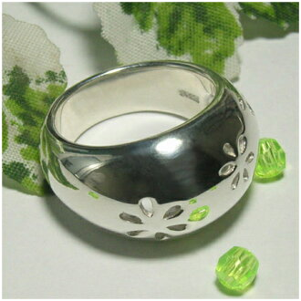 pukkuri花纹银子环9-13号戒指环yubiwa Ring人分歧D MensLadiesRing男性女性戒指