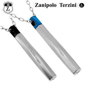 数量限定 ザニポロタルツィーニ ギミック スティック ステンレスネックレス ブラック ブルー メンズ ネックレス 金属アレルギー サージカルステンレス ザニポロ Zanipolo Terzini プレゼント 人気 おしゃれ
