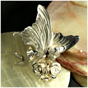 フェアリー シルバーブローチ ペンダントトップとしてもお使い頂けます 925 留め具 銀装飾 プレゼント 人気 おしゃれ