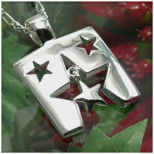 星降るプレートのネックレス SILVER925 銀の蔵 レディース ネックレス 女性用ネックレス ペンダントネックレス レディースネックレス ネックレスレディース プレゼント 人気 かわいい おしゃ