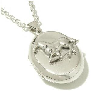 ホースデザイン シルバーロケットネックレス SILVER 925 銀の蔵 レディース ネックレス 女性用 ペンダントネックレス レディースネックレス ネックレスレディース プレゼント 人気 かわいい おしゃれ