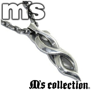 エムズコレクション トライバル ライン シルバーネックレス ハード メンズ ネックレス 銀の蔵 シルバー925 silver メンズネックレス 男性用ネックレス M's collection ブランド プレゼント 人気 彼氏 おしゃれ