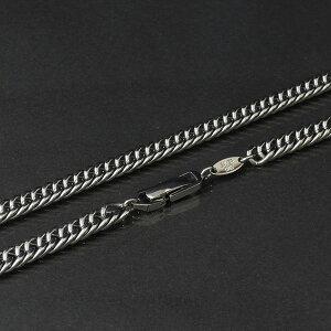 ☆送料無料☆SAVERONE(セイバーワン)チタンネックレス(ダブルキヘイチェーン)幅7mm59cm
