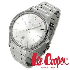 Lee Cooper 腕時計 ブランド ウォッチ LC06292.330 リークーパー 時計 メンズ 紳士 シルバー かっこいい クォーツ ステンレスベルト クラシック ビジネス カジュアル ビジカジ イギリス ブリティッシュ 日本製ムーブメント 電池式 人気 プレゼント 彼氏 おしゃれ