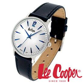 Lee Cooper 腕時計 ブランド ウォッチ LC6378.339 リークーパー 時計 メンズ 紳士 ネイビー かっこいい クォーツ レザーベルト 革 レザーバンド クラシック ビジネス カジュアル ビジカジ イギリス ブリティッシュ 日本製ムーブメント 電池式 人気 プレゼント 彼氏 おしゃれ