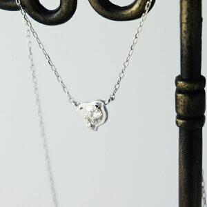 K18 天然 ダイヤモンド 小鳥 ネックレス 18金 18k ホワイトゴールド 鳥 とり アニマル ゴールド ダイヤ シンプル かわいい きれい 清楚 上品 華奢 ジュエリー アクセサリー ペンダント 誕生日 レ