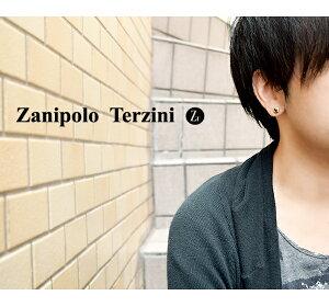 ゴールドカラーブラックジルコニアサージカルステンレススタッドピアス1P片耳用ZanipoloTerziniメンズピアスステンレススタッズ金属アレルギーメンズピアスプレゼント男性彼氏人気おしゃれかっこいい